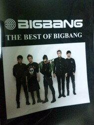 BIGBANG クリアファイル「THE BEST OF BIGBANG」LAWSON HMV 限定特典(裏面にLAWSON HMVのロゴ入り)非売品