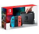 【入荷済み】Nintendo Switch 本体 Joy-Con(L) ネオンブルー/(R) ネオンレッド  ニンテンドー スイッチ