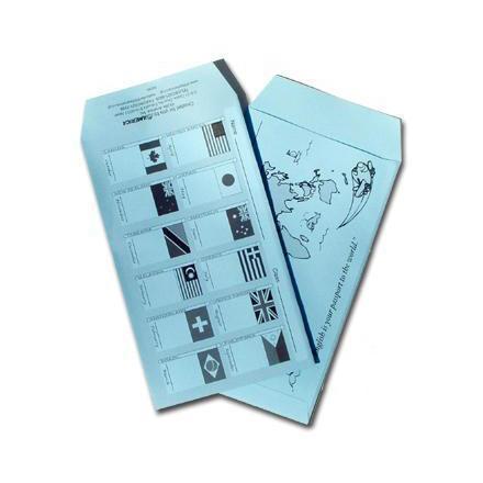 ティーチャーズ・ヘルパー月謝袋(ブルー) Teacher's Helper Tuition Envelopes(Blue)