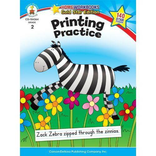 プリンティング・プラクティス・グレ−ド2 Printing Practice, Grade 2
