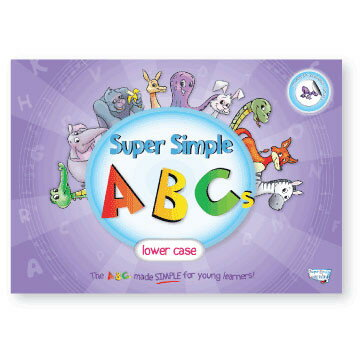 Super Simple ABCs 小文字 Super Simple ABCs Lower Case