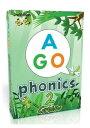 【小学生・中学生にオススメ 英語教材】エイゴ・フォニックス・グリーン 2nd Edition (Level 2) AGO Phonics Green 2nd Edition (Level 2)