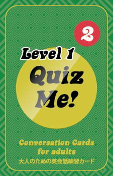 Quiz Me! Conversation Cards for Adults - Level 1, Pack 2