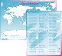 楽天リトル・アメリカ 楽天市場店【楽天スーパーSALE対象商品!】インターナショナル・トラベラー 下敷き International Traveler Shitajiki