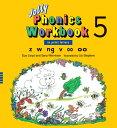 【幼児・小学生にオススメ 英語教材】ジョリー フォニックス ワークブック 5 Jolly Phonics Workbook 5(in print letters)