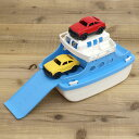 おもちゃ ボート GreenToys グリーントイズフェリーボード ミニカー付き ホワイトトップ