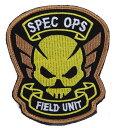 ミリタリー ワッペン バイオハザード ORC SPEC OPS FIELD UNIT ベルクロワッペン マジックテープ ベルクロ パッチ 刺繍 サバイバルゲーム...