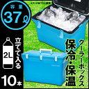 クーラーボックス 日本製 保冷 37L 37リットル アウトドア レジャー バーべキュー 海水浴 キャンプ 行楽 ピクニック コンパクト 軽量 ランチボックス 釣り フィッシング ペットボトル