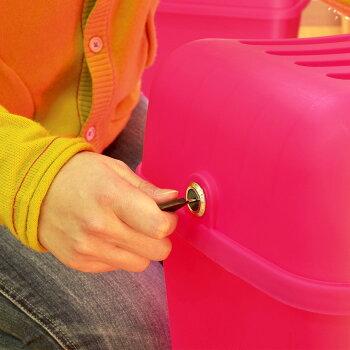 【コンテナチェアーM】灯油缶スツールイス椅子収納ボックスボックス収納フタ付き鍵付きおもちゃボックスおもちゃ箱おもちゃ入れ座れるフィット食品バス用品踏み台座れる収納隠して座るチェアーかわいいカラフル伸和シンワ