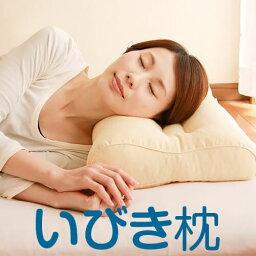 いびき枕 リビングインピース 43 × 63 cm パイプ枕 いびき 防止 まくら 洗える 高さ調節 首 肩 こり 頚椎 横寝 <strong>枕カバー</strong>付き 送料無料 日本製 敬老の日