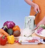 ベンリナー 菜麺器(かつらむき器) 回転式スライサー ベジタブルカッター