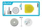 OLFA ロータリーカッター替刃 形刃28ミリ替刃 10枚入り RB28-10