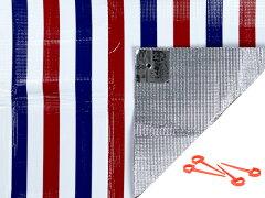 レジャーシートクッションマットpicora2畳用4〜5人用ストッパー付バッグ付