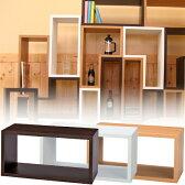 パズルラック ダイゾー( 多目的収納ラック 木製棚 ディスプレイラック オープンラック シェルフ 送料無料 )