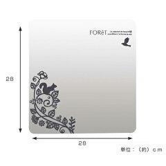 ウォールミラーレギュラーフォレットFOReT壁紙シール鏡シール