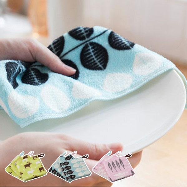 布巾キッチンクロス3枚組みsoppo(ふきんフキンキッチンタオルクロス水切り吸水シンク周り台拭きキッ