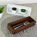 小物収納 チェリーウッド デスクトップ L 27×10cm ( 収納ボックス 木箱 小物入れ 木製 トレー ディスプレイラック ナチュラル雑貨..