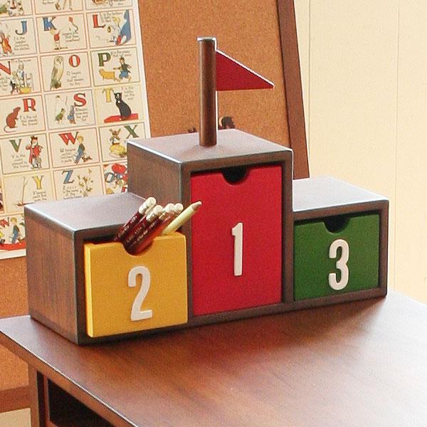 |特価|キッズ収納家具表彰台ボックスnoteco(キッズ用子供用小物入れ子供部屋キッズ家具子供用天然