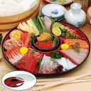 手巻き寿司セット 手巻き御膳 ふた付き しゃもじ付き オードブル容器 ( オードブル皿 パーティー皿
