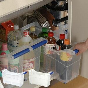ストッカー キャスター ハンドル プラスチック キッチン キッチンストッカー