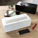 ケーブルボックス タップ 長さ37cm 対応 タップ収納 コード 収納 収納ボックス ( ケーブル収納 タップボックス コード収納 プラスチッ..