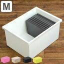収納ボックス ファボーレヌーヴォ CD・DVDケース ボックスM ( 収納ケース 衣装ケース プラスチック おもちゃ箱 衣装ケース 小物入れ CD DVD 収納...