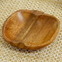 木製食器 - アカシア プレート 小皿 アップル 木製 食器 ( お皿 小物入れ ボウル ウッド ナチュラル )