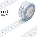 RoomClip商品情報 - マスキングテープ mt ex 定規 幅20mm ( マスキング テープ マステ カモ井加工紙 エムティー 和紙テープ ラッピング デコレーション コラージュ ラッピングテープ 定規柄 じょうぎ ものさし 便利 計れる )