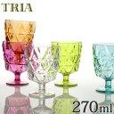 キントー KINTO ワイングラス トリア TRIA コップ 270ml ( カップ 食器 食洗機対応 割れにくい プラスチック クリア プラスチック製 プラコップ )