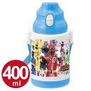 子供用水筒 烈車戦隊トッキュウジャー 直飲みプラワンタッチボトル 400ml 保冷 プラスチック製 ( キャラクター 軽量 トッキュウジャー すいとう )