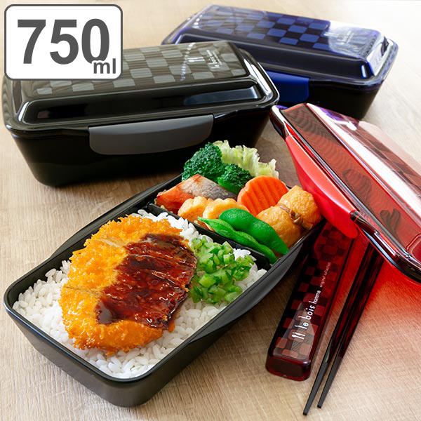 livingut rakuten global market bento box deep 1 mens dome lunch box le bois om 750 ml bento. Black Bedroom Furniture Sets. Home Design Ideas