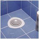 ヘアストッパー L 浴室排水口専用 吸盤付き ( 排水口カバー 排水口ネット お風呂 髪づまり防止 髪の毛 つまり防止 シート )
