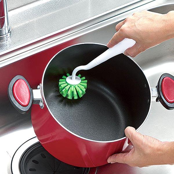 キッチンブラシ PRO 立つ鍋・フライパン用 ...の紹介画像2