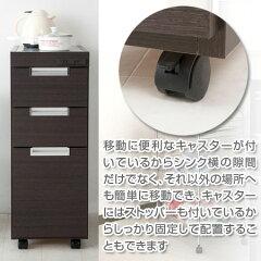 キッチンカウンタースリムカウンターステンレス幅30.5cm