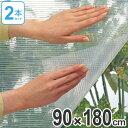 窓ガラス断熱シート 水貼り 2本セット ( 保温 断熱シート 結露防止 窓 窓ガラス 断熱 遮熱 省エネ )