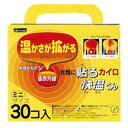 使い捨てカイロ 貼る 快温くん ミニ 30個×16箱セット 送料無料