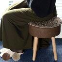 チェアパッド 丸 ファミーユベアー ( 洗える 北欧 椅子 クッション 座布団 おしゃれ 椅子用 イス いす チェアー座布団 椅子用座布団 チェアー 北欧風クッション オカトーファミーユ ベア ファミーユ )