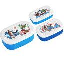 お弁当箱 シール容器 きかんしゃトーマス 3個入 子供用 キャラクター ( 弁当箱 ランチボックス 保存容器 1段 プラスチック保存容器 )