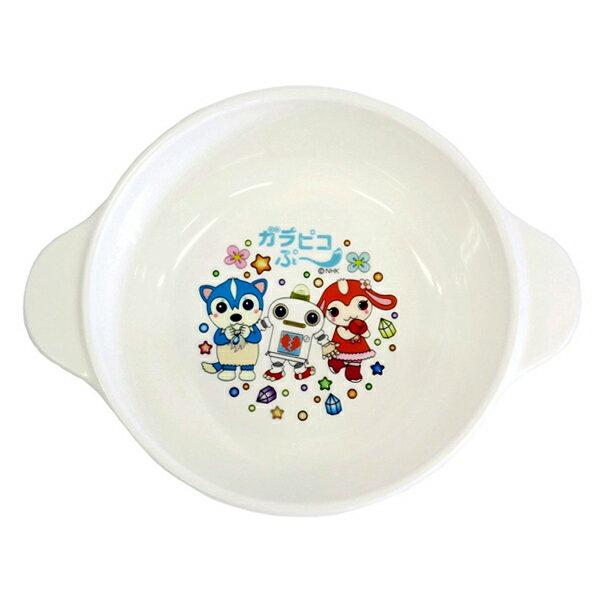 スープ皿ガラピコぷ〜持ち手付き子供用プラスチック製キャラクター(ガラピコプー食洗機対応子供用食器ガラ