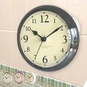 お風呂 時計 スタンド&ウォールシャワークロック ディシェル ( 防水 風呂 バスクロック 浴室 防滴 吸盤 バス用品 スタンド 置き型 クロック )