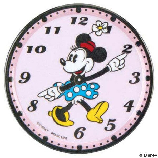 コースターミニーマウス時計メラミン樹脂製キャラクター(大人ディズニーメラミン製キッチン雑貨キッチン用