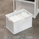 収納ボックス 収納ケース squ+ インボックス L ( 収納 カラーボックス インナーボックス 横置き おもちゃ箱 プラスチック コンテナ 積み重ね スタッキ...