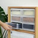 収納ケース ポスデコ ワイドサイズ 浅型ショート6段 カラーボックス用 ( 収納ボックス 小物収納 収納用品 ワイドタイプ プラスチック 小物入れ 小物ケース ...
