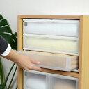 収納ケース ポスデコ ワイドサイズ 浅型3段 カラーボックス用 ( 収納ボックス 小物収納 収納用品 ワイドタイプ プラスチック 小物入れ 小物ケース 引き出し...