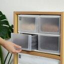 収納ケース ポスデコ ワイドサイズ 深型ショート4段 カラーボックス用 ( 収納ボックス 小物収納 収納用品 ワイドタイプ プラスチック 小物入れ 小物ケース ...