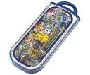 お箸・フォーク・スプーンとケースのセットですスライド式 箸・フォーク・スプーン トリオセット ポケットモンスター 【ポケモン】