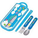 トリオセット 箸・フォーク・スプーン とれたんず スライド式 キャラクター ( 食洗機対応 子供用お箸 カトラリー…