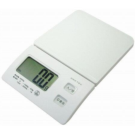 計量器 はかり スリムスケール 2kg( 調理器具 デジタル はかり )...:livingut:10013980