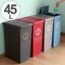 RoomClip商品情報 - ゴミ箱 ふた付き スライドペール 45リットル ( スリム キッチン ダストボックス 45L 日本製 スライド式 ペール キャスター付き おしゃれ )