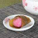 小皿 桜 ミニプレート 10cm ボーンチャイナ 食洗機対応 ( お皿 プレート 食器 電子レンジ対応 磁器製 さくら )